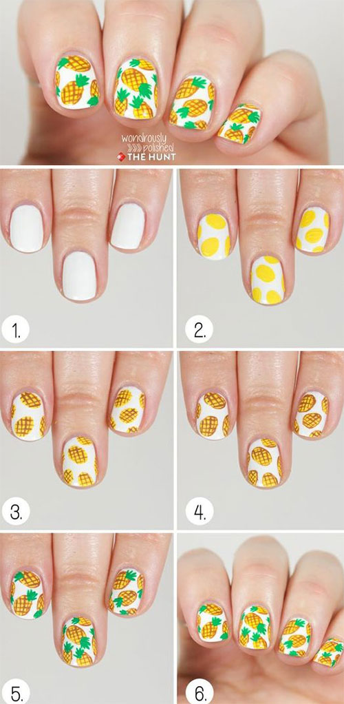 20-Easy-Step-By-Step-Summer-Nail-Art-Tutorials-For-Beginners-2016-8