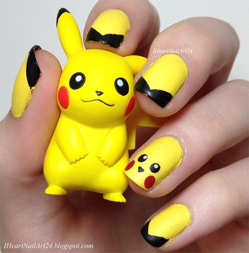 12-Pokemon-Pikachu-Nails-Art-Designs-Stickers-2016-1