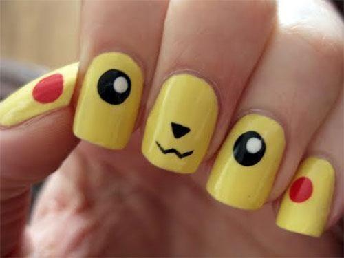 12-Pokemon-Pikachu-Nails-Art-Designs-Stickers-2016-10