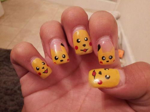 12-Pokemon-Pikachu-Nails-Art-Designs-Stickers-2016-11