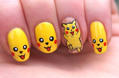 12-Pokemon-Pikachu-Nails-Art-Designs-Stickers-2016-13