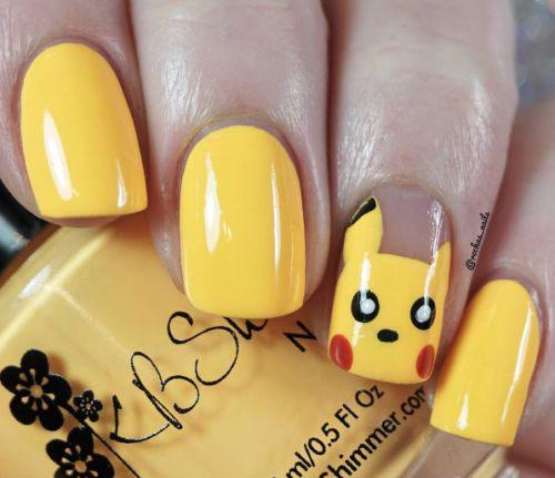 12-Pokemon-Pikachu-Nails-Art-Designs-Stickers-2016-2