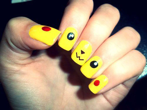 12-Pokemon-Pikachu-Nails-Art-Designs-Stickers-2016-7