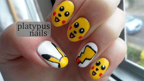 12-Pokemon-Pikachu-Nails-Art-Designs-Stickers-2016-8