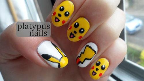 12-Pokemon-Pikachu-Nails-Art-Designs-Stickers-2016-8