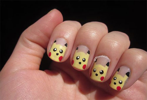 12-Pokemon-Pikachu-Nails-Art-Designs-Stickers-2016-9