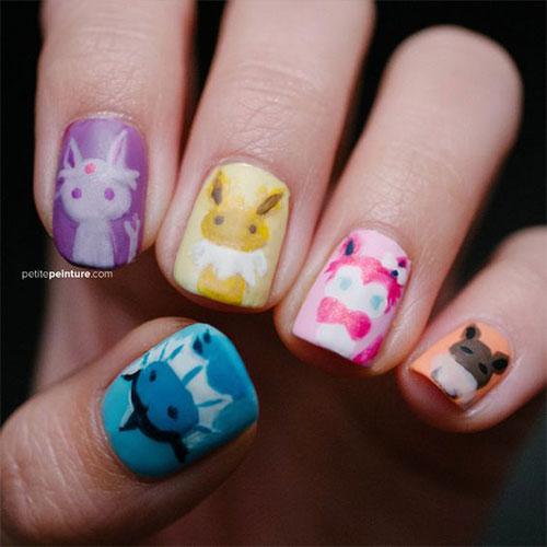 20-Cute-Easy-Pokemon-Go-Themed-Nails-Art-Designs-Stickers-2016-12