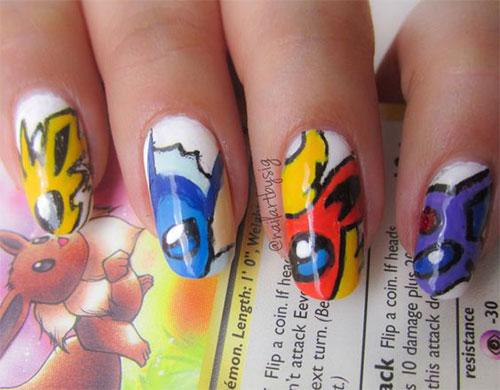 20-Cute-Easy-Pokemon-Go-Themed-Nails-Art-Designs-Stickers-2016-21