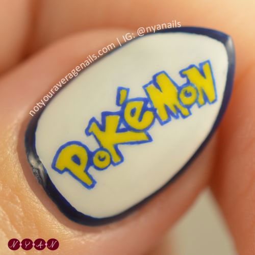 20-Cute-Easy-Pokemon-Go-Themed-Nails-Art-Designs-Stickers-2016-22