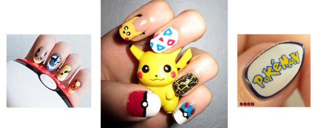 20-Cute-Easy-Pokemon-Go-Themed-Nails-Art-Designs-Stickers-2016-f