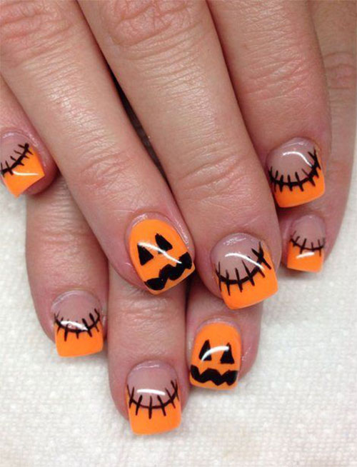 15 halloween acrylic nails art designs ideas 2016 fabulous 15 halloween acrylic nails art designs ideas 2016 prinsesfo Image collections