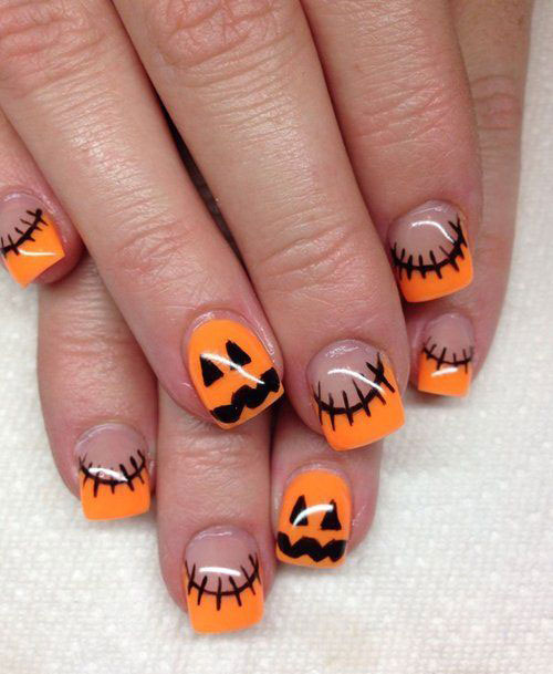 15 halloween gel nail art designs ideas 2016 fabulous nail art designs