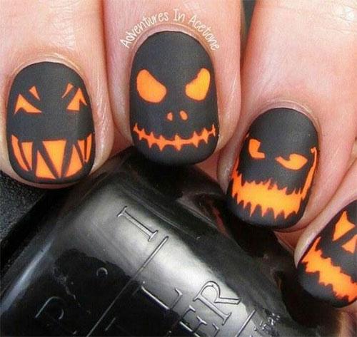 15-Halloween-Pumpkin-Nails-Art-Designs-2016-1