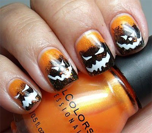 15-Halloween-Pumpkin-Nails-Art-Designs-2016-16