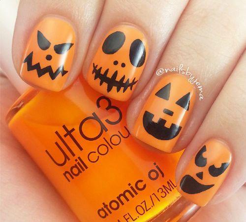 15-Halloween-Pumpkin-Nails-Art-Designs-2016-3