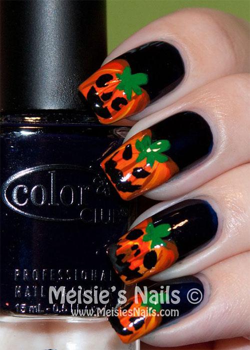 15-Halloween-Pumpkin-Nails-Art-Designs-2016-4