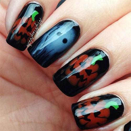 15-Halloween-Pumpkin-Nails-Art-Designs-2016-6