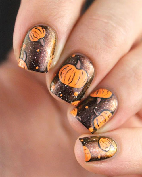 15-Halloween-Pumpkin-Nails-Art-Designs-2016-8