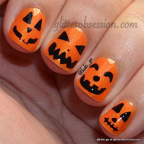 15-Halloween-Pumpkin-Nails-Art-Designs-2016-9