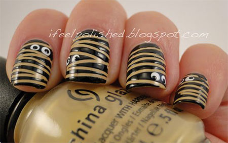 20-Simple-Easy-Halloween-Themed-Nails-Art-Designs-2016-12
