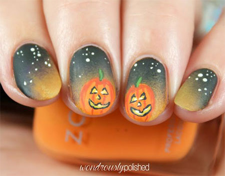 20-Simple-Easy-Halloween-Themed-Nails-Art-Designs-2016-13