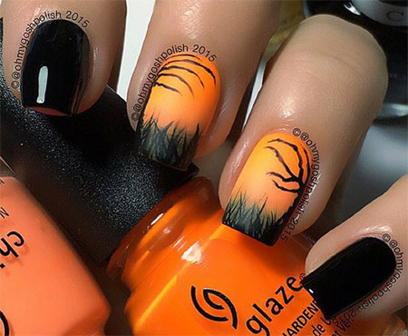 20-Simple-Easy-Halloween-Themed-Nails-Art-Designs-2016-14
