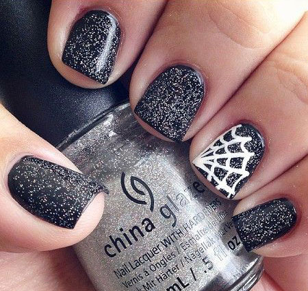 20-Simple-Easy-Halloween-Themed-Nails-Art-Designs-2016-2