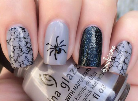 20-Simple-Easy-Halloween-Themed-Nails-Art-Designs-2016-7