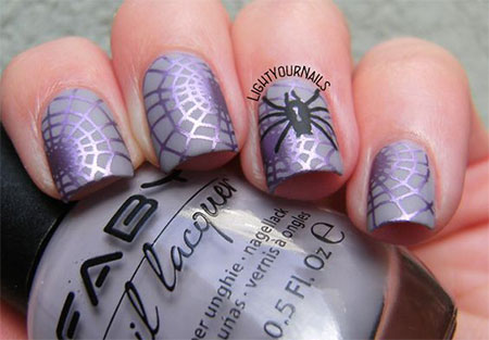 20-Simple-Easy-Halloween-Themed-Nails-Art-Designs-2016-8