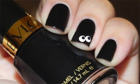 20-Simple-Easy-Halloween-Themed-Nails-Art-Designs-2016-9