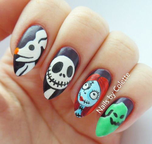 30+ Halloween Nails Art Designs & Ideas 2016 | Fabulous Nail Art ...