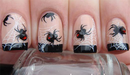 12-halloween-spider-web-nail-art-designs-ideas-2016-12