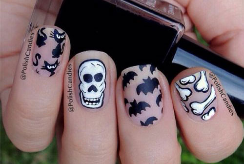 15-Halloween-Bat-Nails-Art-Designs-Ideas-2016-13