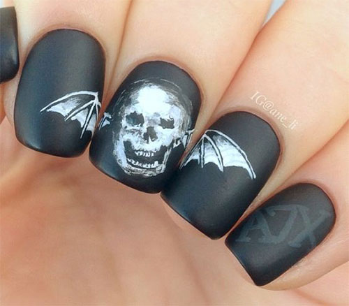 15-Halloween-Bat-Nails-Art-Designs-Ideas-2016-6