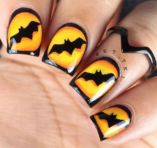 15-Halloween-Bat-Nails-Art-Designs-Ideas-2016-7
