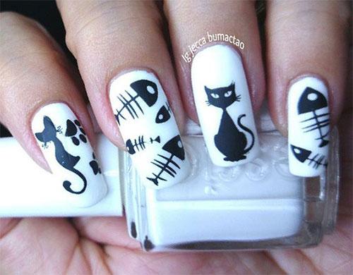 15-halloween-cat-nail-art-designs-ideas-2016-13