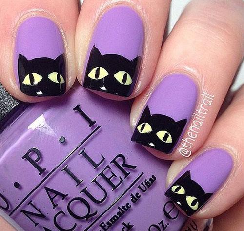 15-halloween-cat-nail-art-designs-ideas-2016-3