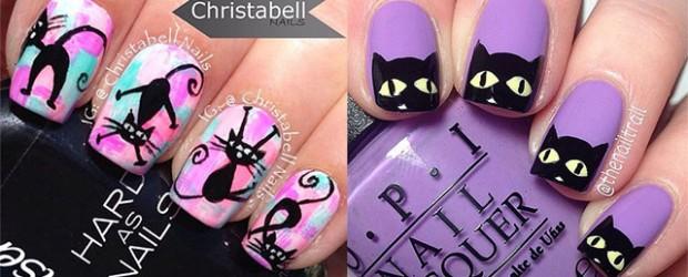 15-halloween-cat-nail-art-designs-ideas-2016-f