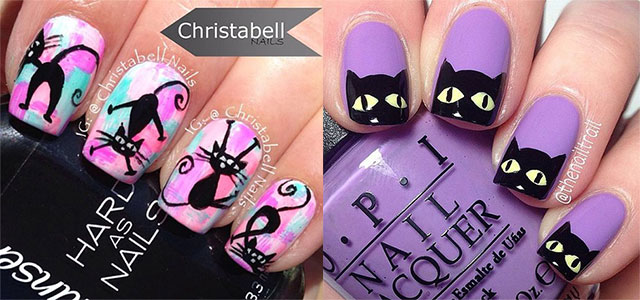15-halloween-cat-nail-art-designs-ideas-2016-f