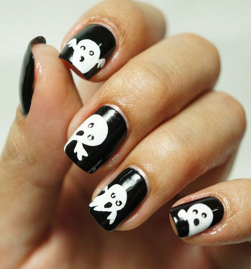 15-halloween-ghost-nails-art-designs-ideas-2016-11