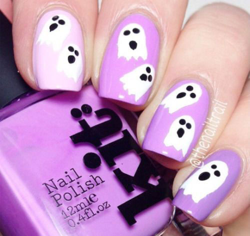 15-halloween-ghost-nails-art-designs-ideas-2016-3