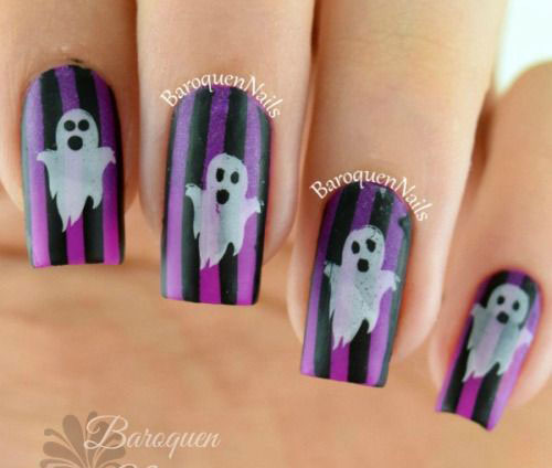 15-halloween-ghost-nails-art-designs-ideas-2016-9