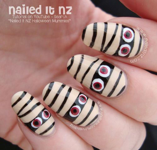 15-halloween-mummy-nail-art-designs-ideas-2016-15