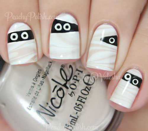 15-halloween-mummy-nail-art-designs-ideas-2016-2