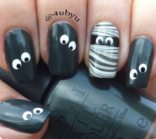 15-halloween-mummy-nail-art-designs-ideas-2016-3