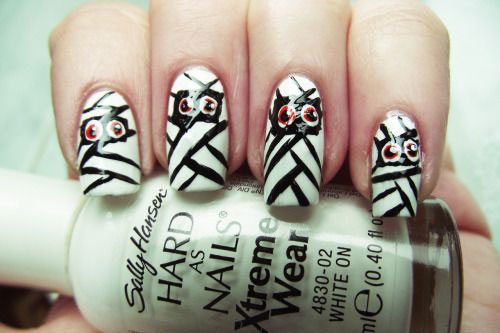 15-halloween-mummy-nail-art-designs-ideas-2016-5