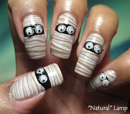 15-halloween-mummy-nail-art-designs-ideas-2016-7