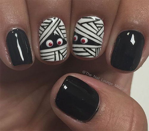 15-halloween-mummy-nail-art-designs-ideas-2016-8