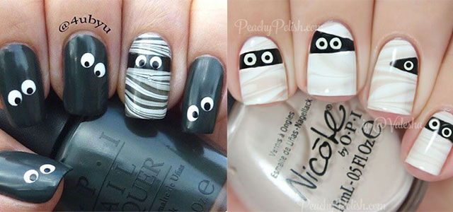 15-halloween-mummy-nail-art-designs-ideas-2016-f