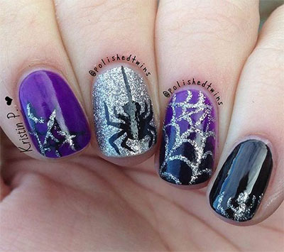 15 Spooky Halloween Nails Art Designs & Ideas 2016 ...